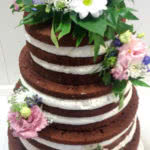 tort naked cake, tort golas, torty naked lubuskie, tort weselny